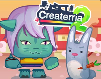 Createrria - mobile game