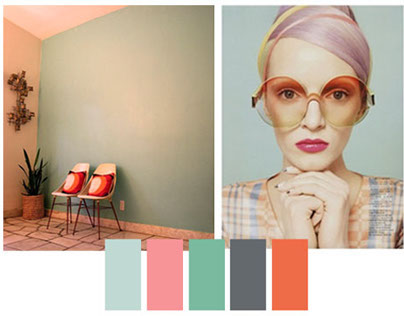 Color trends & inspirational mood boards