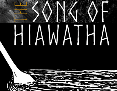 The SONG OF HIAWATHA Book Cover