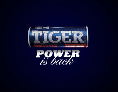 Tiger Energy Drink - Kinetic Typography Montage