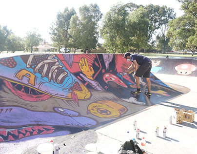 Atwell Skate Park Graffiti Jam