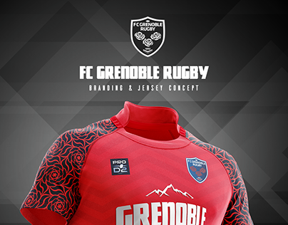 FC Grenoble Rugby, Branding and jersey concept