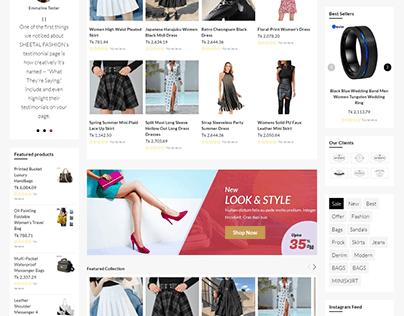 Shopify Store (Multiple Catalogs)