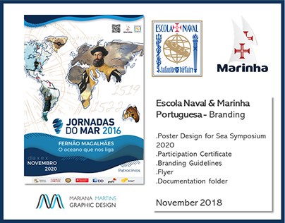 Jornadas do Mar 2020 | Brand Identity