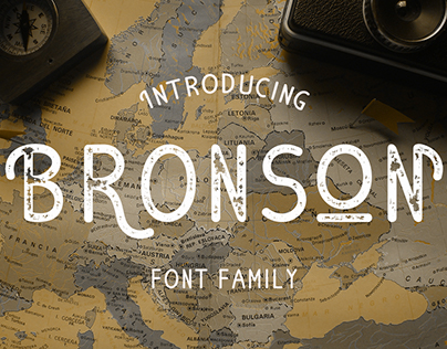 Bronson Font Family