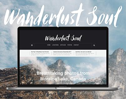 Wanderlust Soul - Web UX/UI Design