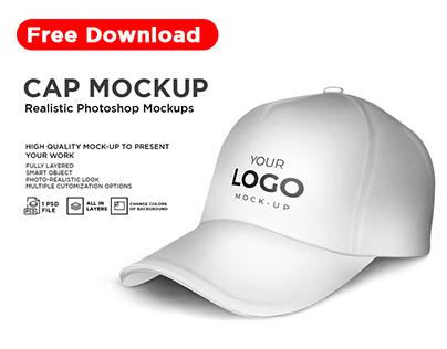 Cap Mockup Free Download