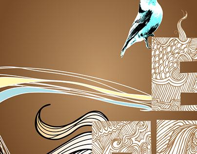 Bird Eats Bang - Illustration
