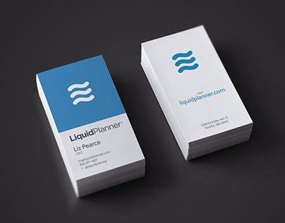 LiquidPlanner Business Card