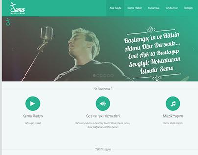 Sema Medya Web Site
