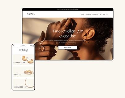 Mono Jewelry | E-commerce