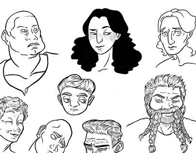 Character Design-Profiles