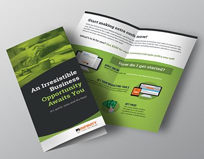 Half-fold Affiliate Brochure