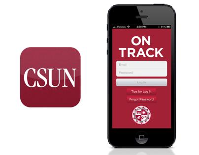 CSUN On Track iPhone Application