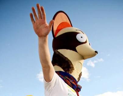 Gaston the Weasel Mascot for E-180 (2013)