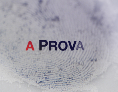 A PROVA   Main titles - Teaser & promo launch