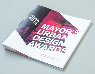 Mayor's Urban Design Awards 13