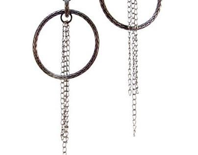Gunmetal Eco-Friendly Earrings