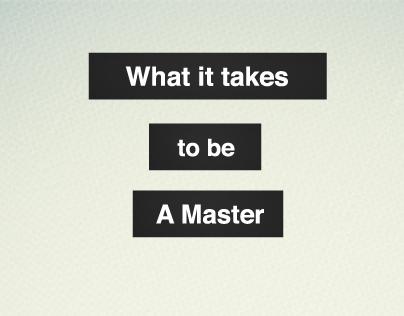 Masters of Postmodernsim