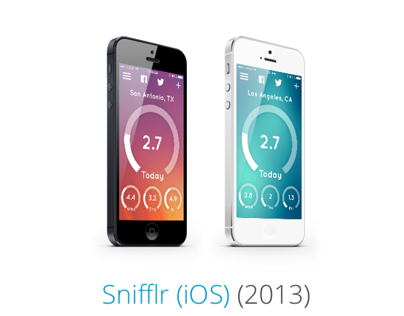 Snifflr for iPhone