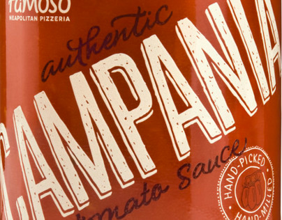 Famoso Tomato Sauce Packaging
