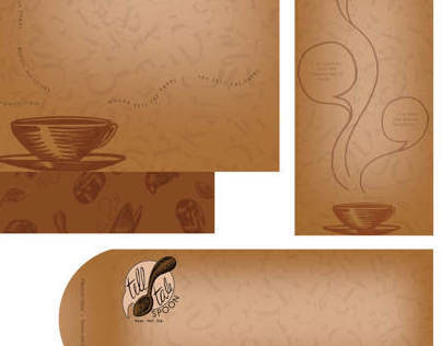 Telltale Spoon Coffee House Stationery Set