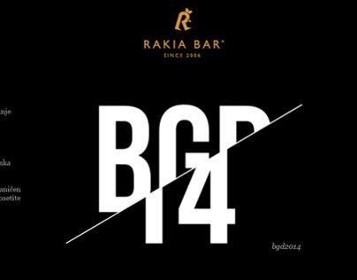 Rakia BGD14 Competition