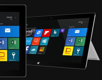 Surface 2 PSD