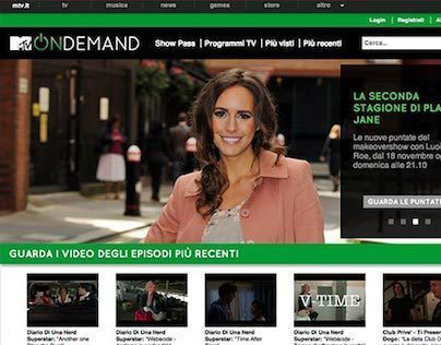 MTV On Demand Italy