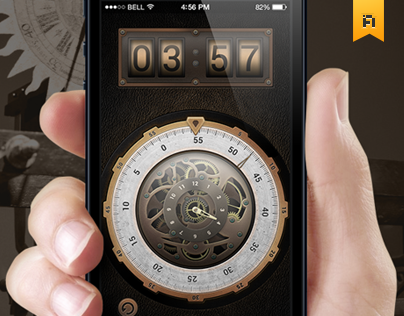 Steam Timer | Simple Steampunk Timer Application