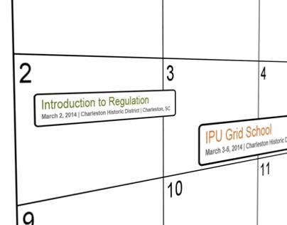 Institute of Public Utilities Promotional Work