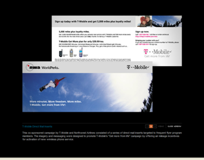 T-Mobile Direct Mail Campaign #2