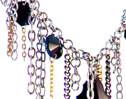 Chandelier Crystal Necklaces from Pursuade Me Designs