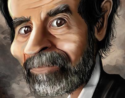 portrait Saddam