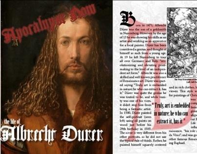 Albrecht Durer Magazine Spread