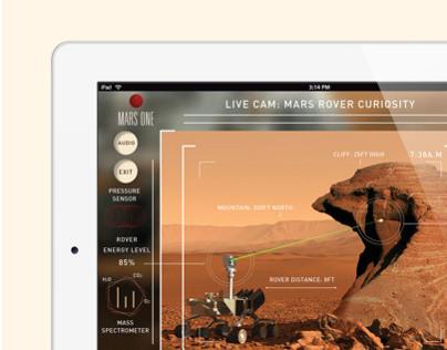 Mars One Astronaut Helper App