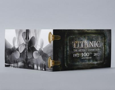 Titanic Exhibition 100th Anniversary Invitation