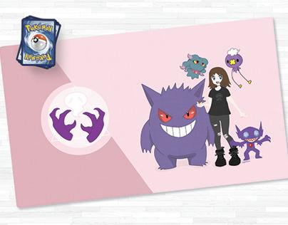 Custom Pokemon Playmat