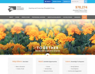 Toledo Community Foundation Redesign
