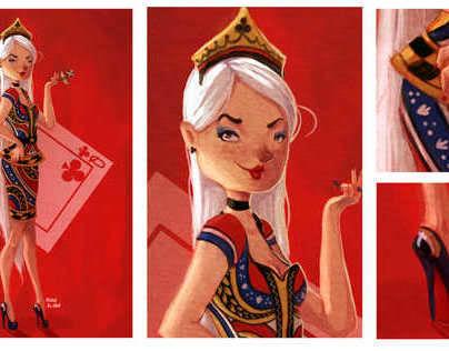 Trebol queen