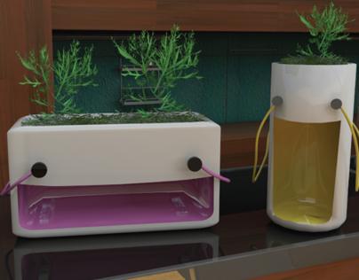 PlantS2 - flower pots