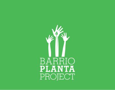 Barrio Planta Project Identity Redesign & Brandbook