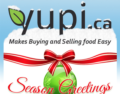 Yupi.ca - Seasons Greetings MailChimp Campain
