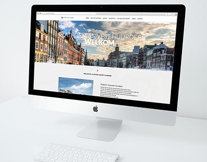 Webdesign Platform Amvest Huurders