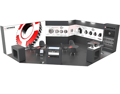 Design of exhibition stand SPINEA, s.r.o.