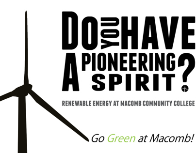 Renewable Energy - High School Orientated