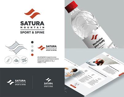 Satura Sport and Spine Brand Identity