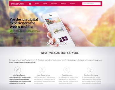 New Design for upcoming website