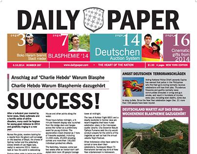 DailyPaper :: Newspaper Template