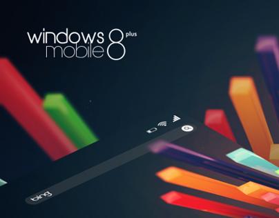 Windows Mobile 8 plus (mockup)